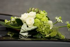 Flores do casamento Fotografia de Stock Royalty Free