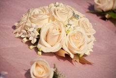 Flores do casamento foto de stock royalty free
