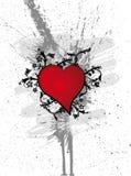 Flores do coração Ilustração do Vetor