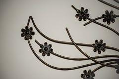 Flores do metal fotos de stock royalty free