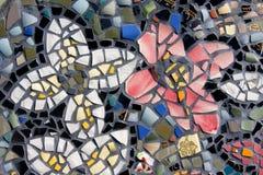 Flores do mosaico Fotos de Stock Royalty Free