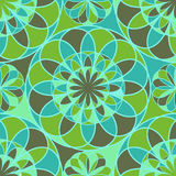 Flores do mosaico Foto de Stock