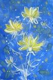 Flores do outono ilustração stock
