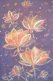 Flores do outono ilustração do vetor