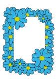 Flores do quadro imagem de stock royalty free