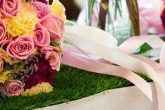 Flores do ramalhete fotos de stock