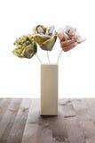 Flores do ramalhete das cédulas Imagens de Stock Royalty Free