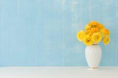 Flores do ranúnculo imagens de stock