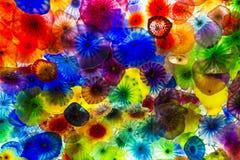 Flores do vidro de Bellagio Imagem de Stock