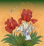 Flores do vintage ilustração royalty free