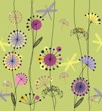 Flores dos dentes-de-leão Imagens de Stock