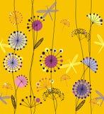Flores dos dentes-de-leão ilustração royalty free