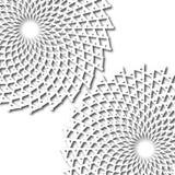 Flores dos pontos finos Imagens de Stock