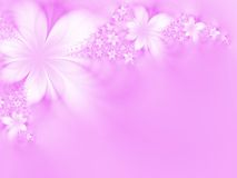 Flores Dreamlike Fotografia de Stock Royalty Free
