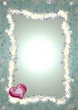 Flores e coração Fotos de Stock