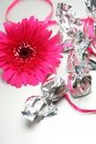 Flores e doces Imagens de Stock Royalty Free