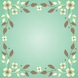 Flores e filiais Fotografia de Stock Royalty Free