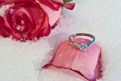Flores e joalheiro Foto de Stock Royalty Free