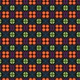 Flores e linhas vetor Imagem de Stock