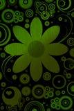Flores e motivos retros Fotos de Stock Royalty Free