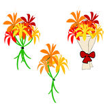 Flores e ramalhetes Imagens de Stock Royalty Free