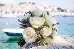 Flores e transporte Fotos de Stock