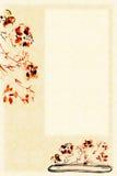 Flores em um fundo liso do vaso ilustração stock