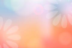 Flores em um sonho Fotografia de Stock