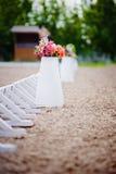 Flores em uma cerca do potenciômetro Foto de Stock Royalty Free