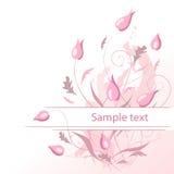 Flores en colores pastel Foto de archivo libre de regalías