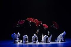 """Flores en el  del shelter†del dance""""No del ` s de ruina-Huang Mingliang imagenes de archivo"""