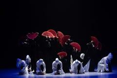 """Flores en el  del shelter†del dance""""No del ` s de ruina-Huang Mingliang fotografía de archivo libre de regalías"""