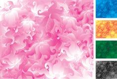 Flores en el movimiento Imágenes de archivo libres de regalías