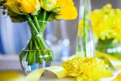 Flores en el vector Fotos de archivo