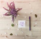 Flores en el vector Imágenes de archivo libres de regalías