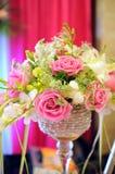Flores en la boda Imagen de archivo libre de regalías