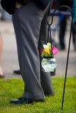 Flores en tarro Fotos de archivo