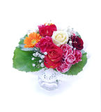 Flores en un florero fotografía de archivo libre de regalías
