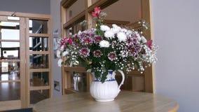 Flores en un florero Foto de archivo
