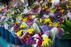 Flores en un mercado Fotografía de archivo libre de regalías