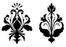 Flores estilizados Fotografia de Stock Royalty Free