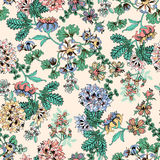 Flores exóticas en fondo ligero Imagen de archivo libre de regalías