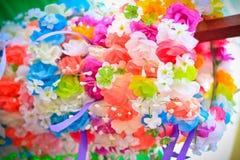 Flores falsas Fotografía de archivo libre de regalías