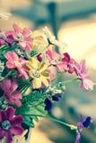 Flores falsas Fotos de archivo