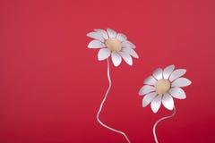 Flores falsas de Alluminium Foto de archivo libre de regalías