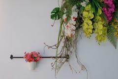 Flores falsificadas Fotos de Stock Royalty Free