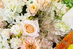 Flores falsificadas Fotografia de Stock