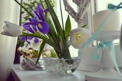 Flores favoritas da mola do ` s das mulheres Imagem de Stock Royalty Free