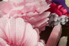 Flores feitas da ondulação de papel foto de stock royalty free