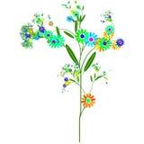 Flores felices Fotos de archivo libres de regalías